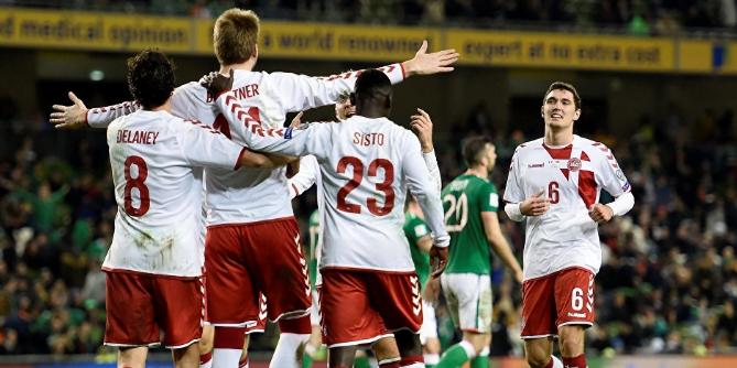 الدنمارك تسحق إيرلندا وتتأهل لكأس العالم 2018