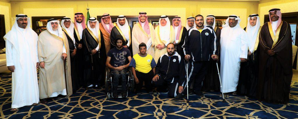 الأمير أحمد بن فهد: القيادة حريصة على دعم وإشراك ذو الاحتياجات الخاصة في مختلف الأنشطة