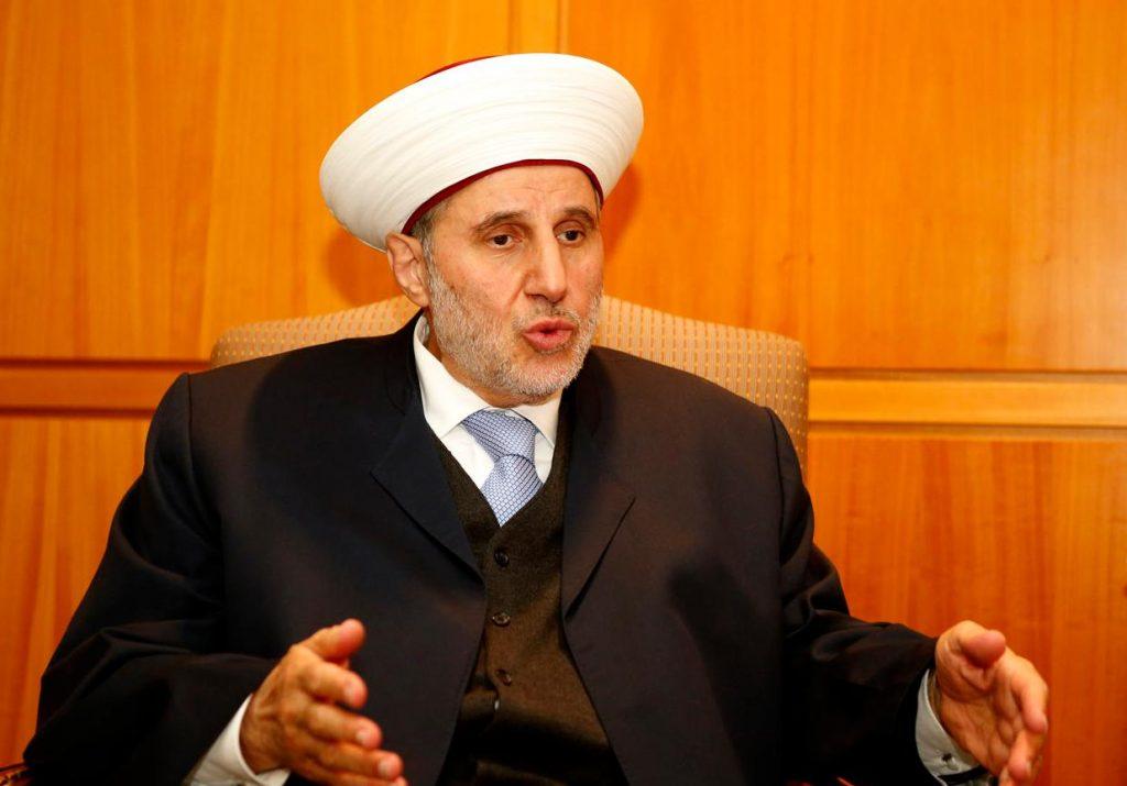مفتي طرابلس: الأيام الماضية كانت مسرحا للتجاوزات الكبيرة لحزب الله