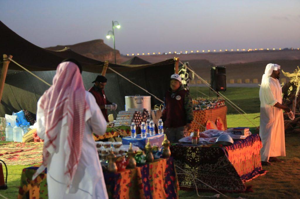 حارة الطيبين في البطولة البحرية الخليجية بدومة الجندل