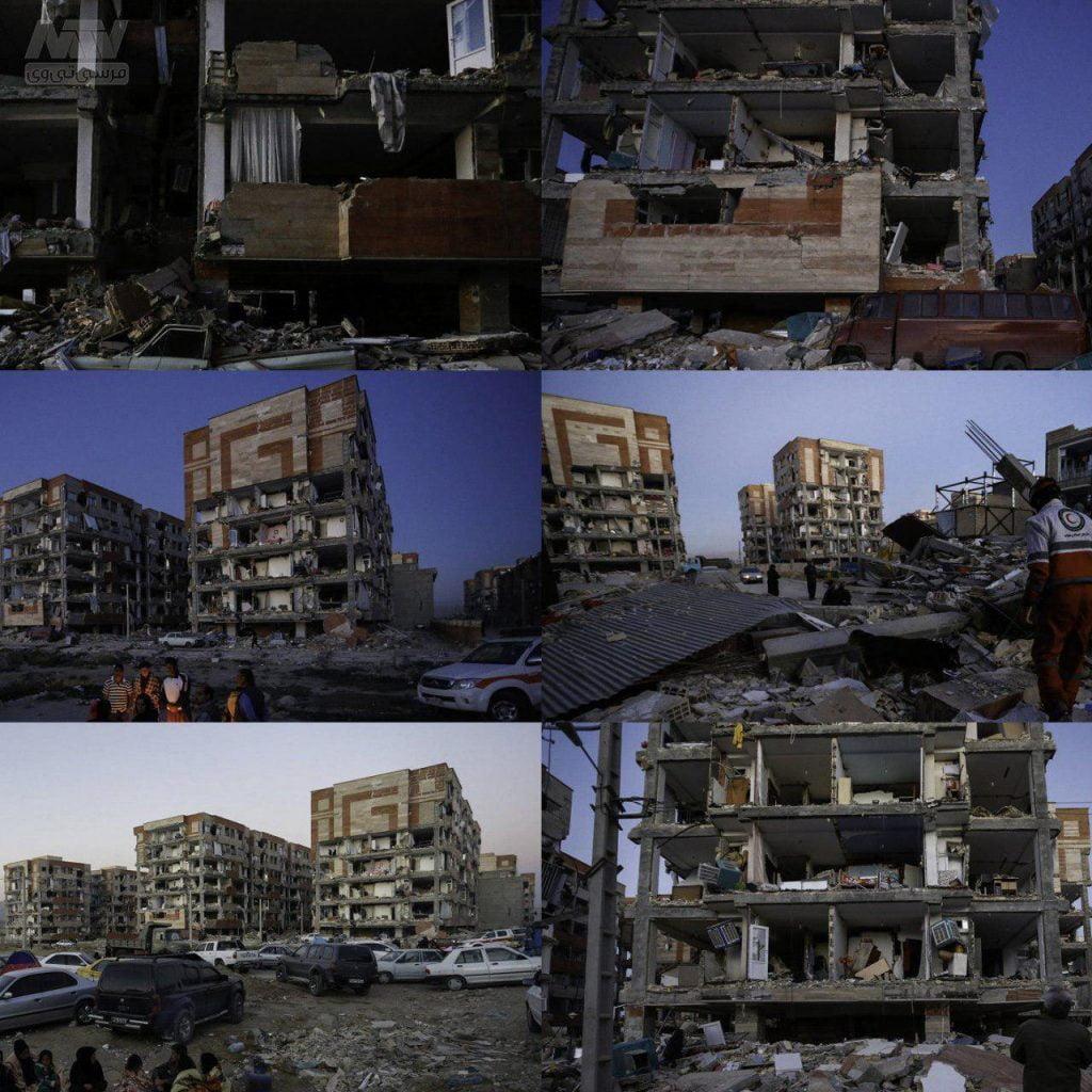 إيران تعلن انتهاء عمليات الإنقاذ بعد الزلزال المدمر