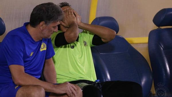 """""""تمزق"""" يبعد العنزي عن النصر 3 أسابيع"""