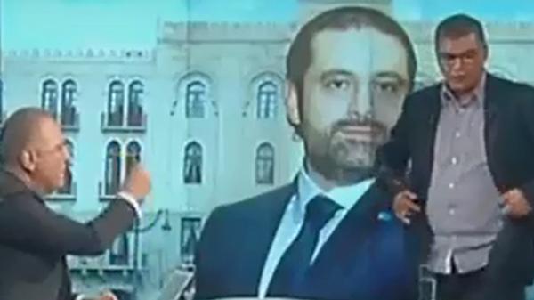 شاهد .. مداخلة السبهان تستفز موال لحزب الله وتطرده على الهواء