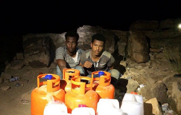 القبض على مروجي العرق المسكر بمحافظة بالجرشي في الباحة