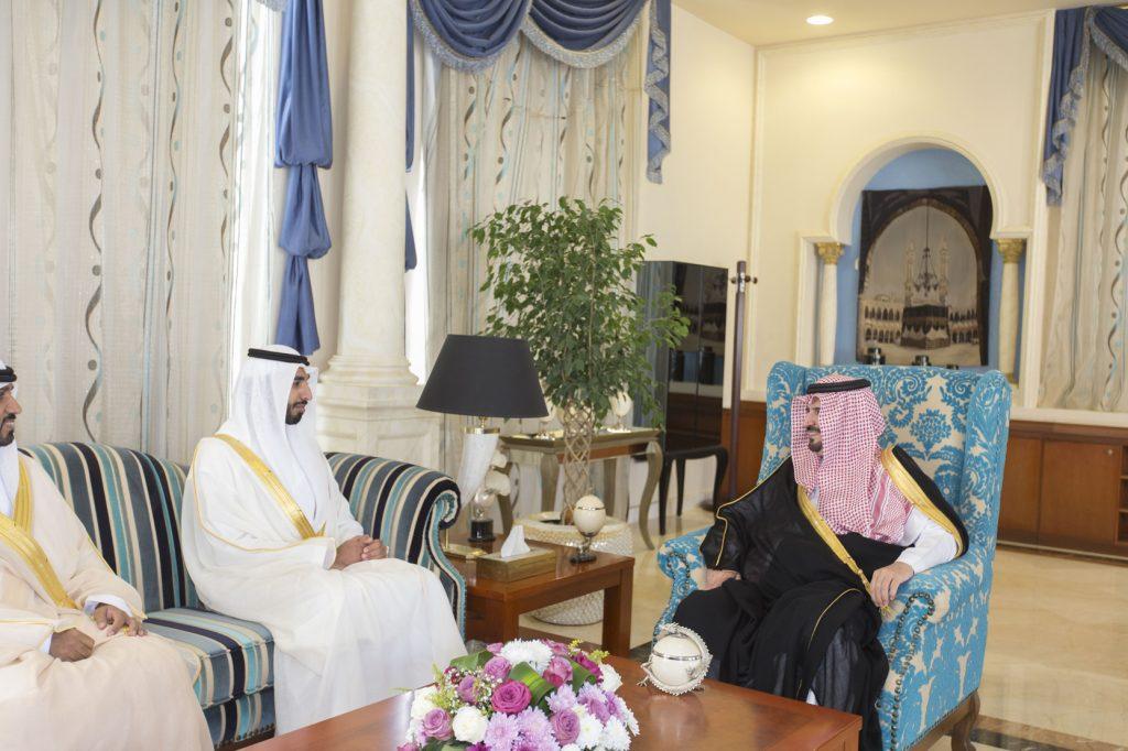 أمير الجوف استقبل سفير دولة الإمارات لدى المملكة
