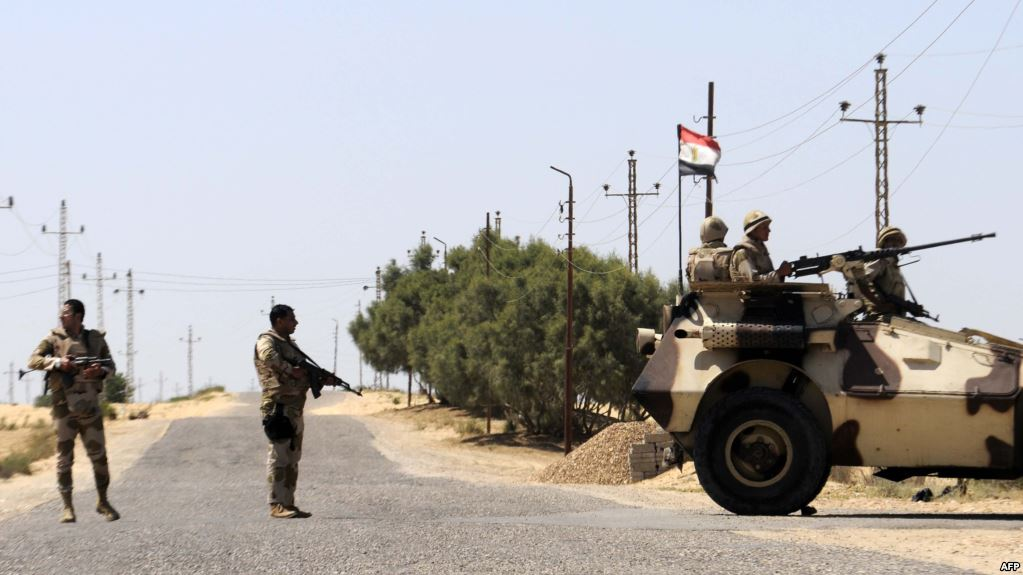 الجيش المصري يقتل عشرات الإرهابيين بحملة أمنية وسط سيناء