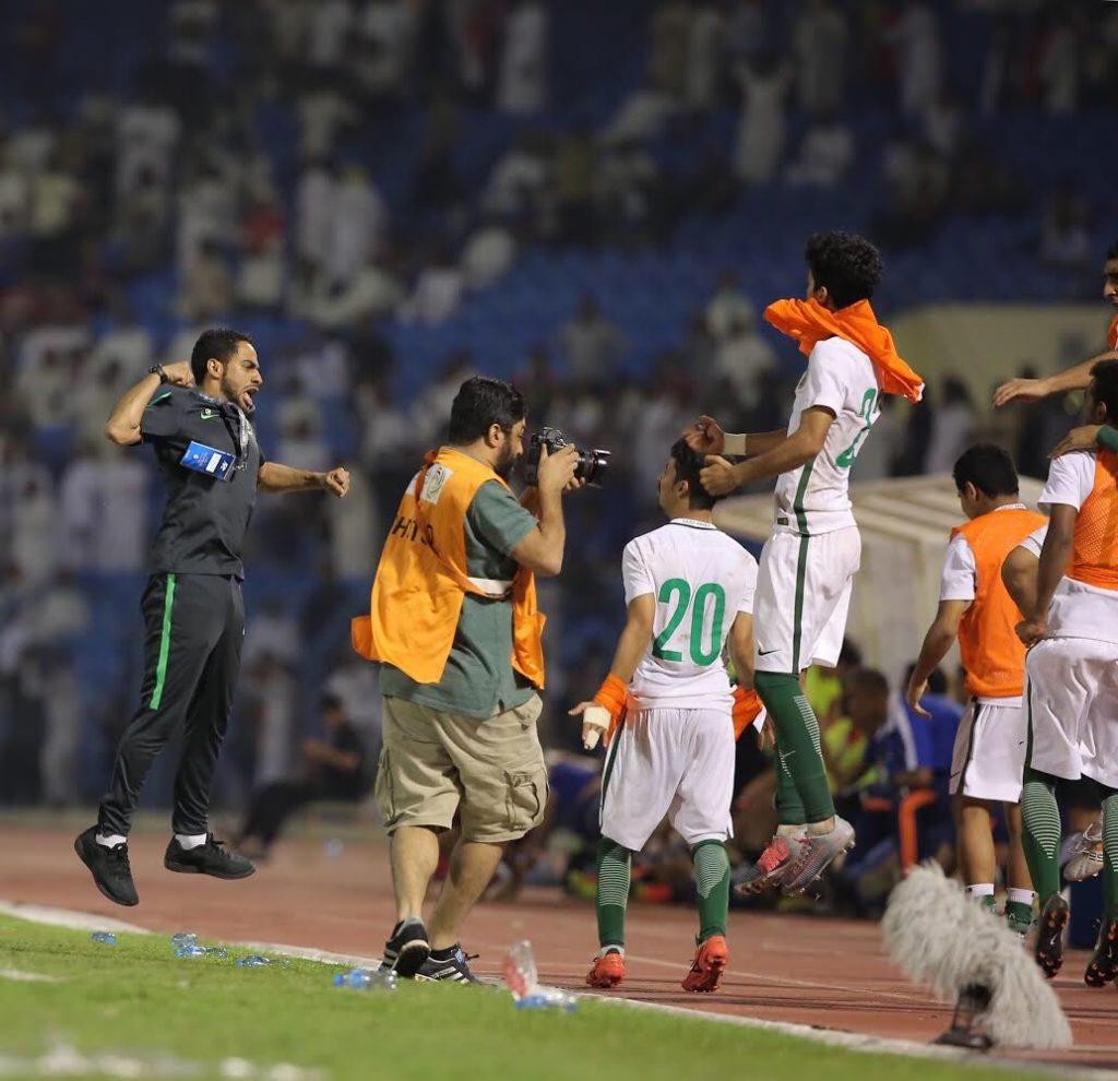 """""""الأخضر"""" الشاب يتأهل لنهائيات كأس آسيا بعد الفوز على اليمن"""