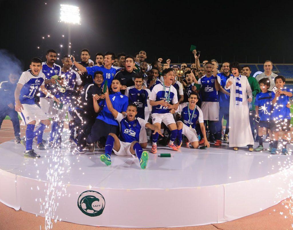 شباب الهلال بطلًا لكأس الاتحاد السعودي