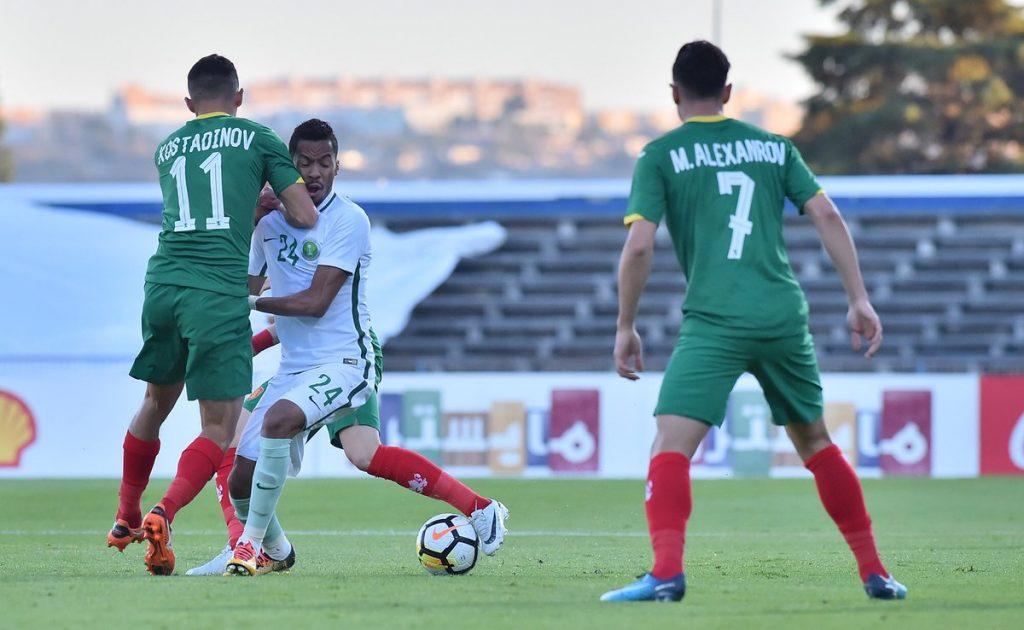 """""""الأخضر"""" ينهي معسكر البرتغال بخسارة أمام بلغاريا"""