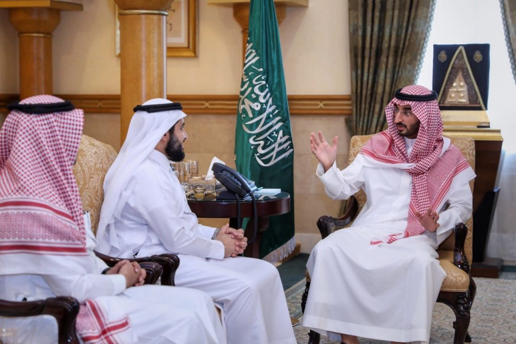 نائب أمير مكة يلتقي نائب وزير البيئة
