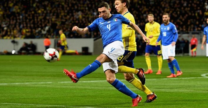 السويد تنتزع بطاقة التأهل للمونديال من إيطاليا