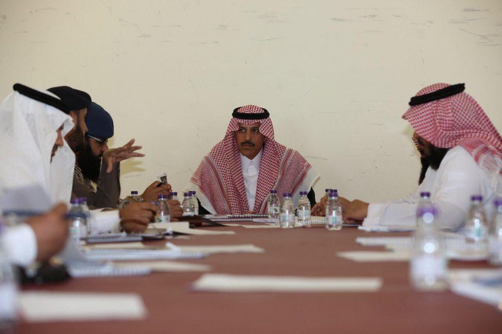 السديري يرأس اجتماع لجنة الدفاع المدني الفرعية بمحافظة تيماء
