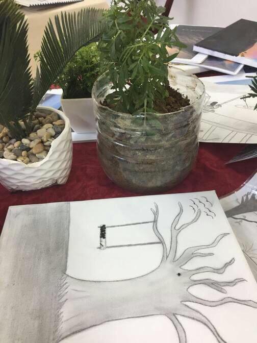 إدارة نشاط الطالبات تنفذ برنامجا علميا بعنوان المواطنة البيئية