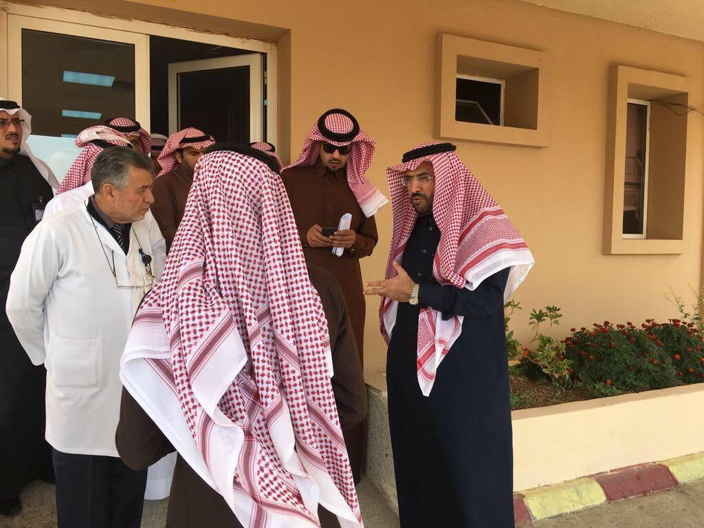 مدير عام صحة تبوك يتفقد مستشفى ابو راكه