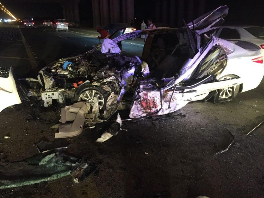 حوادث مرورية بمنطقة جازان نتج عنها 12 اصابة مابين حرجة ومتوسطة
