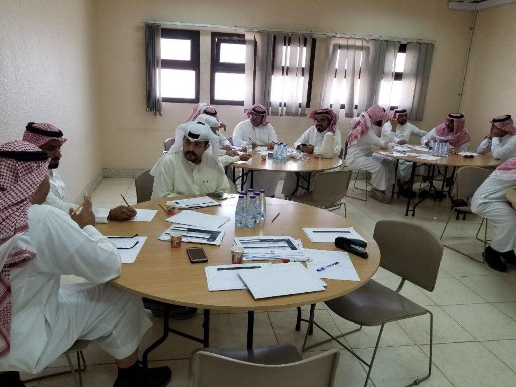 ورش تدريبية لتعزيز مشاركة المدرسة مع الاسرة والمجتمع بتعليم الشرقية