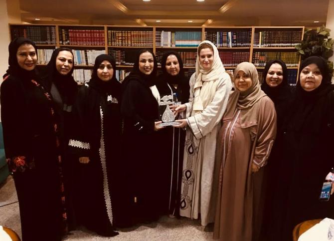 المرأة في رؤية 3020 محور نقاش في  الصالون الثقافي النسائي بأدبي جدة