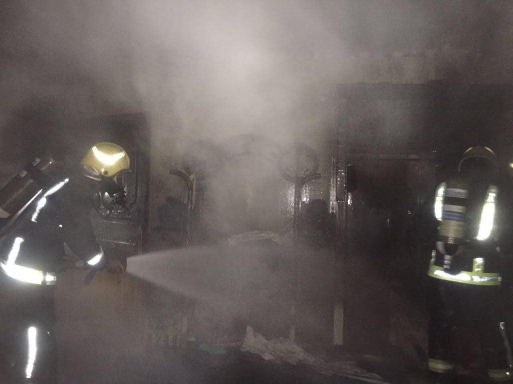 السيطرة على حريق بمنزل فى نجران