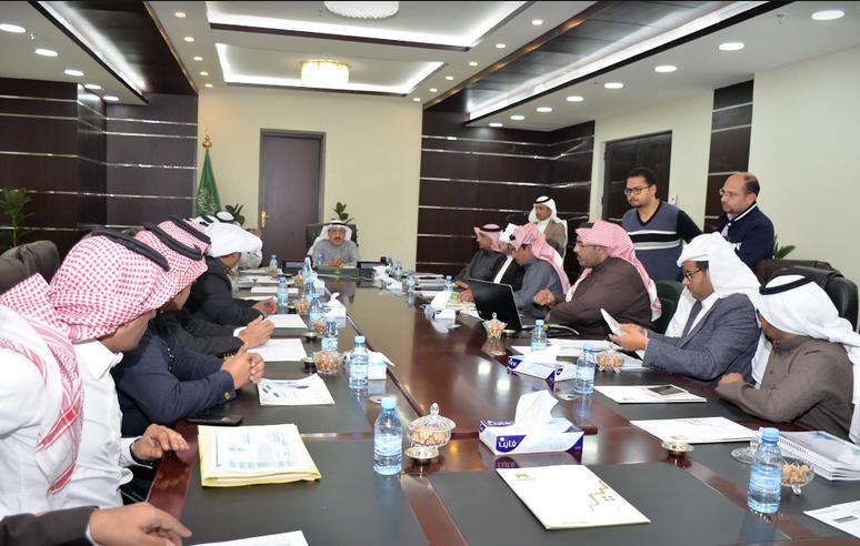 الشفق يترأس اجتماع قادة مبادرات خطة مدينتي 2018