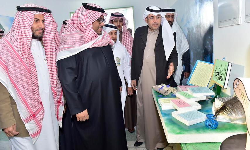 نائب أمير نجران يتفقد سير الاختبارات في مدارس المنطقة