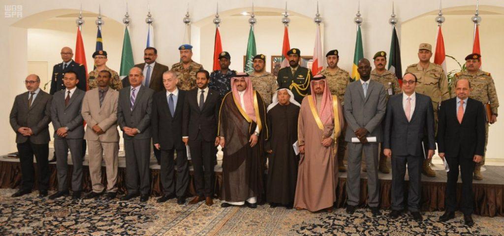 سفراء دول التحالف لدعم الشرعية في اليمن والملاحق العسكريون يجتمعون في الرياض