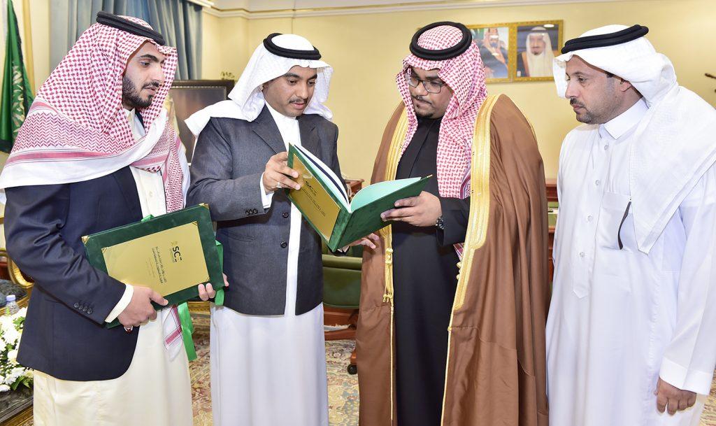نائب أمير نجران يتسلم تقرير أعمال مجلس فرع الهيئة السعودية للمهندسين بالمنطقة