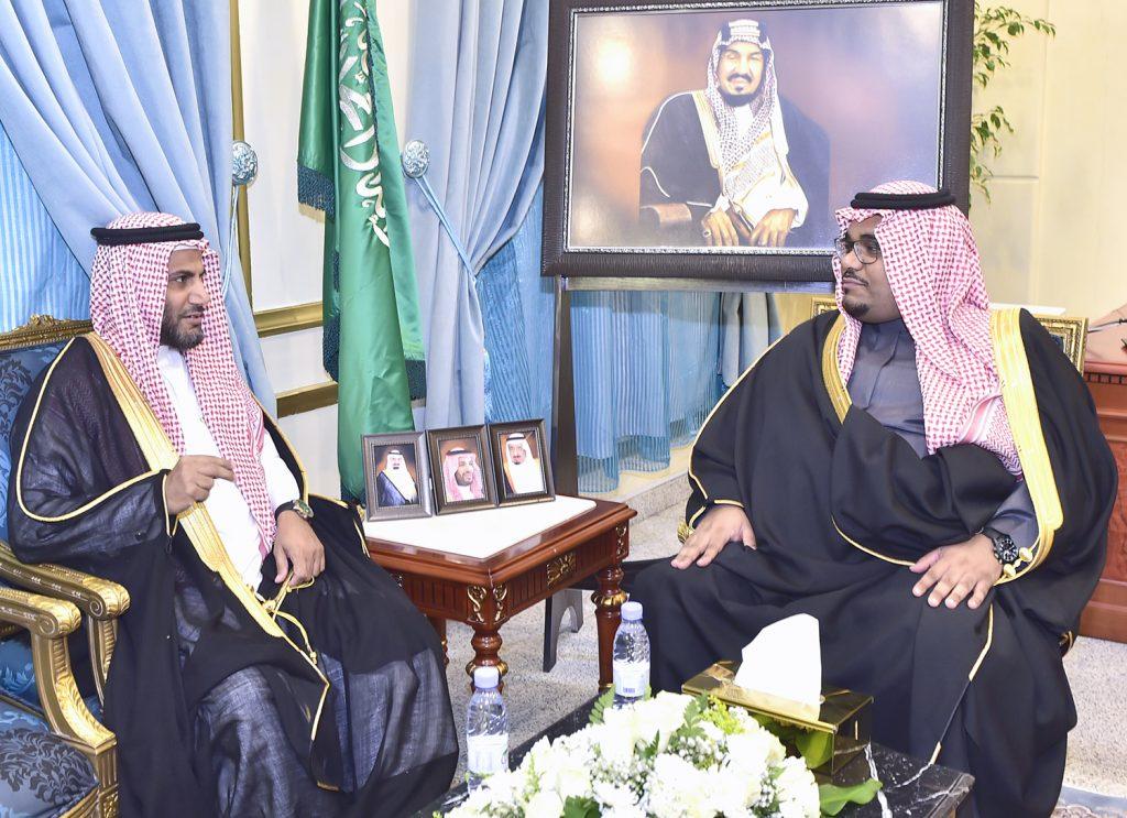 الأمير تركي بن هذلول : يناقش سير الاختبارات في منطقة نجران ومحافظاتها