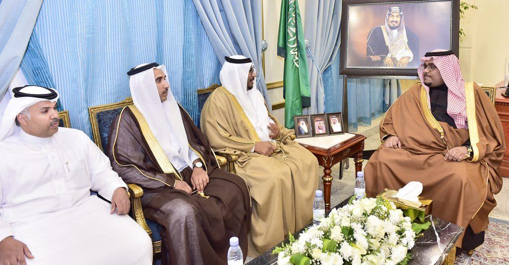 نائب أمير نجران يلتقي مدير فرع صندوق التنمية العقاري بالمنطقة
