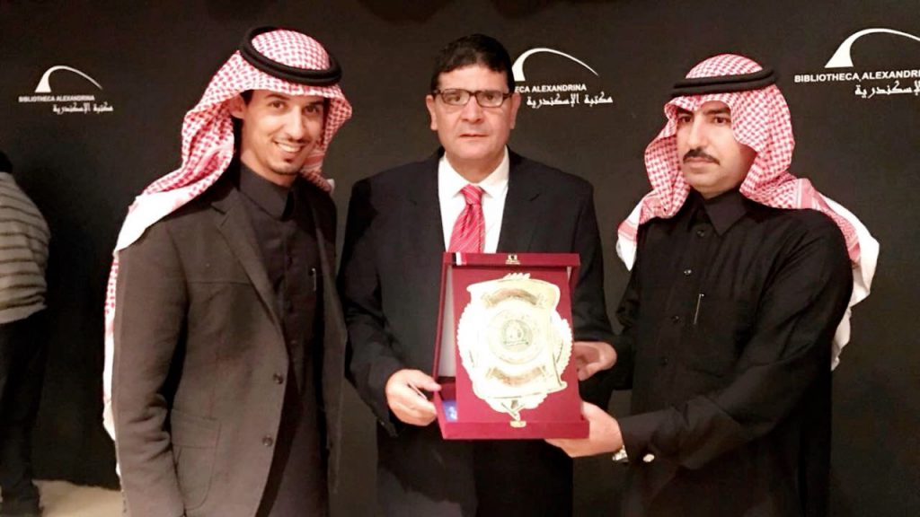 رواد الأعمال العرب يكرم الشراري كشخصية عربية لعام2017