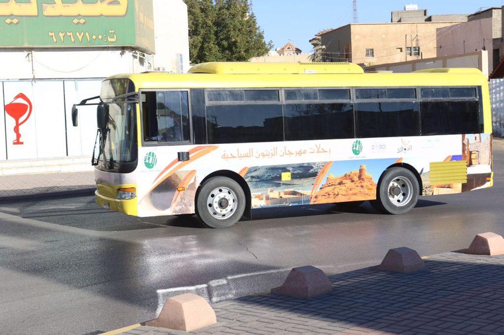 سياحة الجوف تدعو الراغبين للتسجيل برحلات مهرجان الزيتون