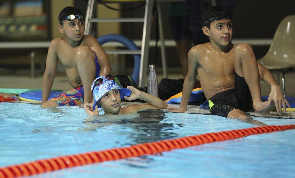 يقام لمدة 9 ايام ضمن خطة اتحاد السباحة لرفع كفاءة المواهب .. 30 من سباحي المستقبل يعسكرون في الرياض