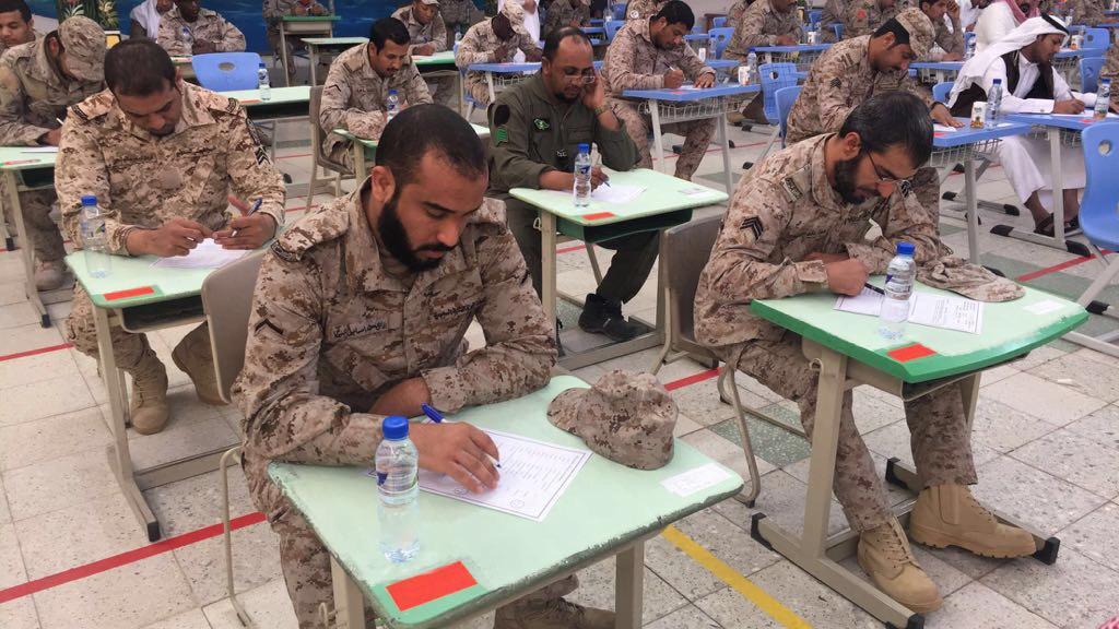 تسهيل اختبارات الجنود المرابطين بتعليم نجران