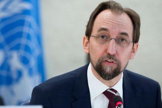مفوض الأمم المتحدة لحقوق الإنسان يدعو إيران إلى احترام حقوق المحتجين في حرية التعبير