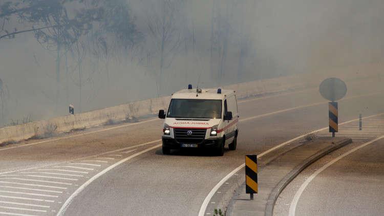 مصرع 8 أشخاص على الأقل في حريق وتدافع في البرتغال