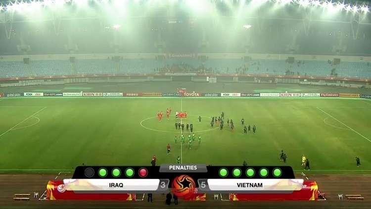 فيتنام تقصي العراق وتتأهل لنصف نهائي كأس آسيا