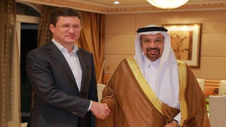 المملكة وروسيا تعربان عن ارتياحهما لتوازن سوق النفط