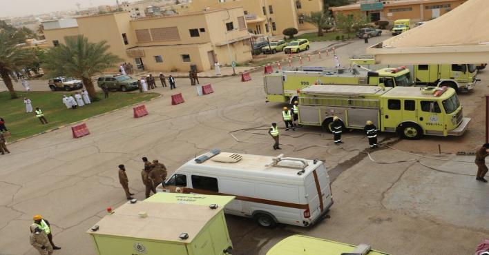 الدفاع المدني: لا إصابات في اعتراض الصاروخ الباليستي فوق نجران