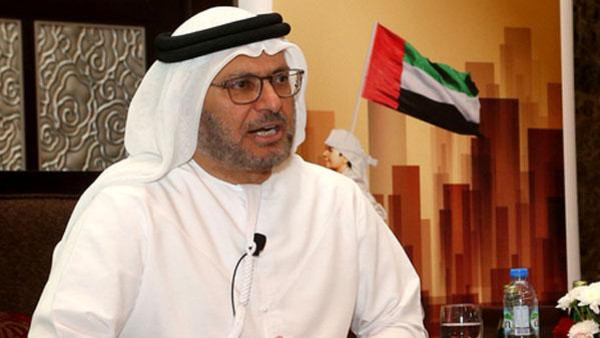 قرقاش: ما يدور في عفرين يؤكد ضرورة بناء وترميم مفهوم الأمن القومي العربي