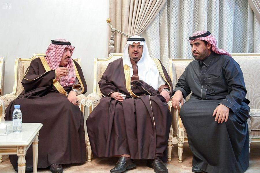 نائب أمير منطقة الرياض يعزي أسرة المقيرن