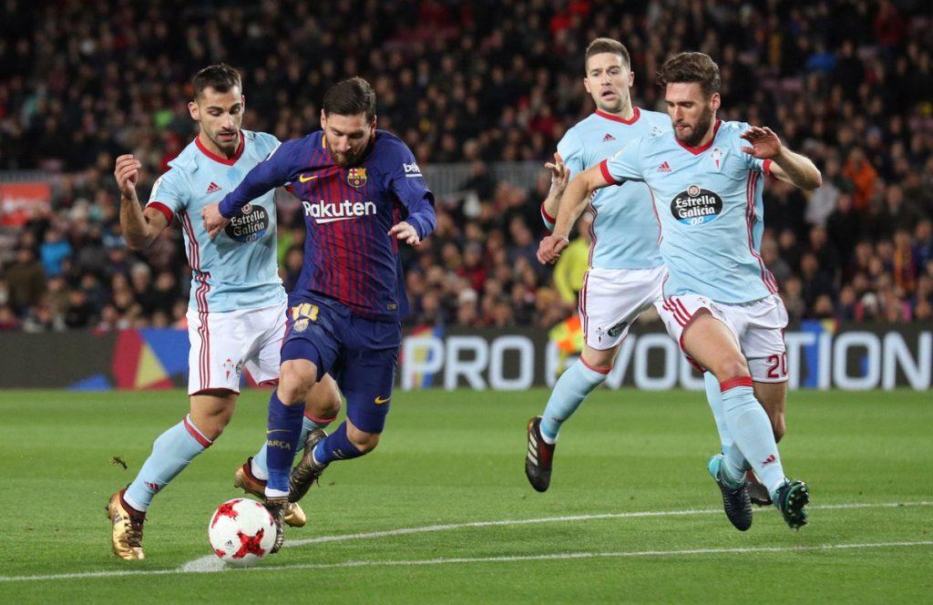 برشلونة يسحق سيلتا فيجو بخماسية ويتأهل لدور 8 بكأس إسبانيا