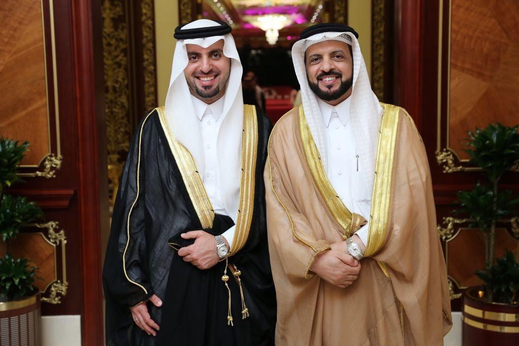 الدكتور عبدالحميد الغامدي يحتفل بزواج نجله عبدالله