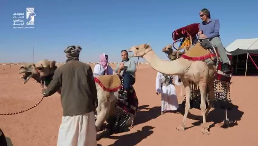 فعاليات تجذب زوار مهرجان الملك عبدالعزيز للإبل