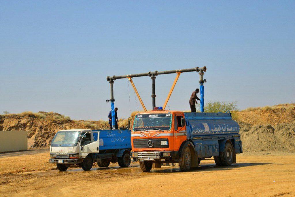 تسليم مشاريع سقيا في في محافظة العيدابي
