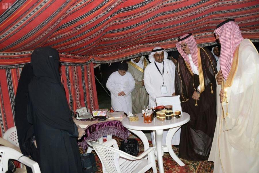 محافظ صبيا يفتتح فعاليات مهرجان منتزه جازان البري الثاني بقوز الجعافرة