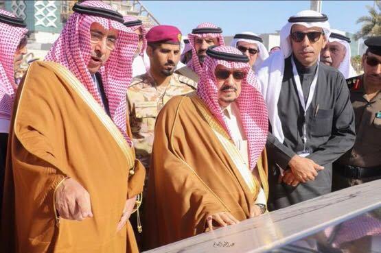 """سمو أمير منطقة الرياض يفتتح المرحلة الثانية من مشروع تطوير طريق الأمير تركي """"الأول"""""""