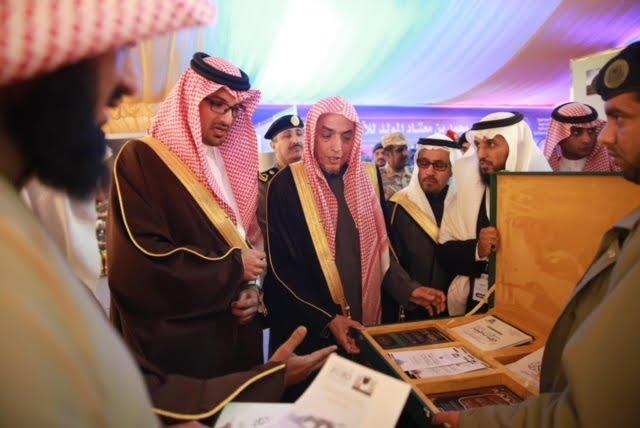 سمو نائب أمير منطقة المدينة المنورة يزور جناح وكالة الرئاسة بملتقى الأمن الفكري (مدرك)