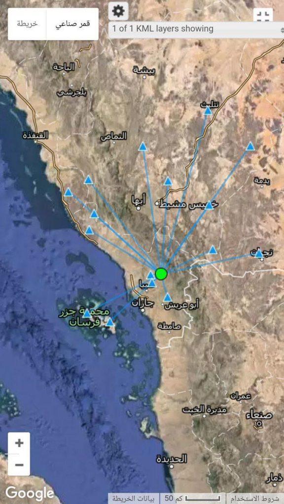 رصد هزة أرضية شمال شرق صبيا بقوة 2،5 بمقياس ريختر
