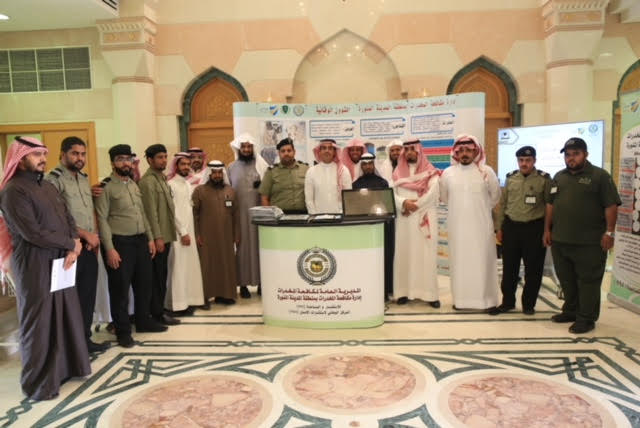 """بالتعاون مع """"نبراس"""" وكالة شؤون المسجد النبوي تنظم حملة """"التحذير من آفة العصر"""""""