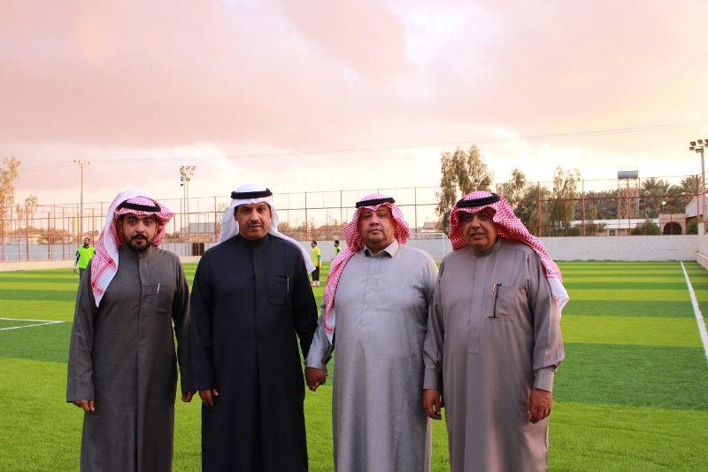 مدير هيئة الشباب والرياضة بالكويت في ضيافة أكاديمية طابتنا بالجوف