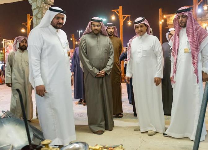 نائب مدير أكاديمية شرطة دبي يشيد بقرية الباحة التراثية بالجنادرية ويصفها بالعالمية